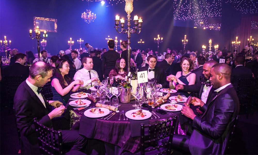 Christmas Party at Finsbury Square
