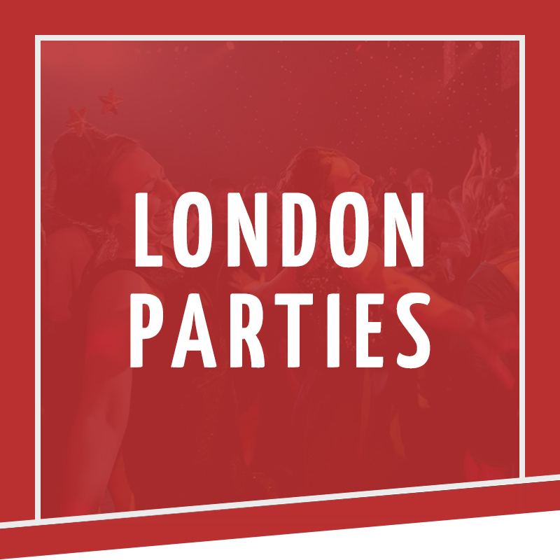 London Christmas Parties