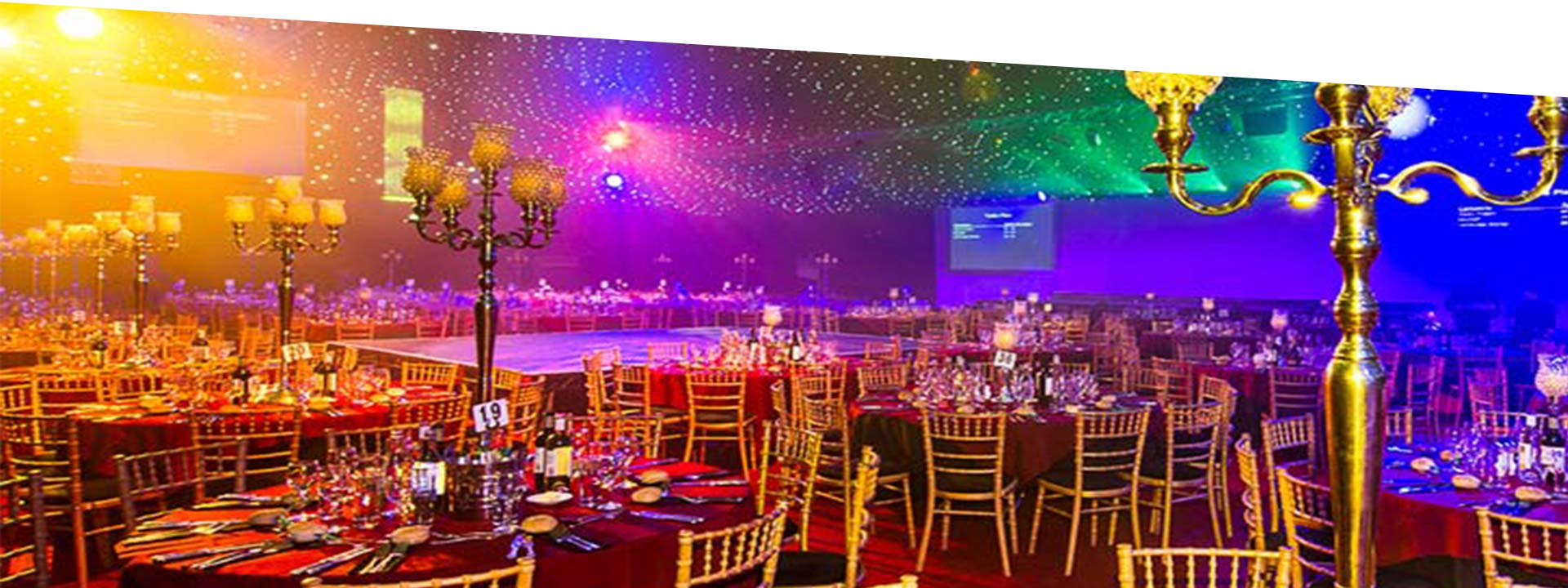 Glitterball theme Christmas Party