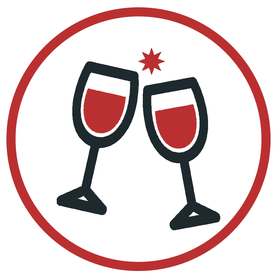 Unlimited Beer & Wine Available At This Christmas Party