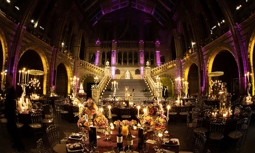 Natural History Museum Christmas Party Venue