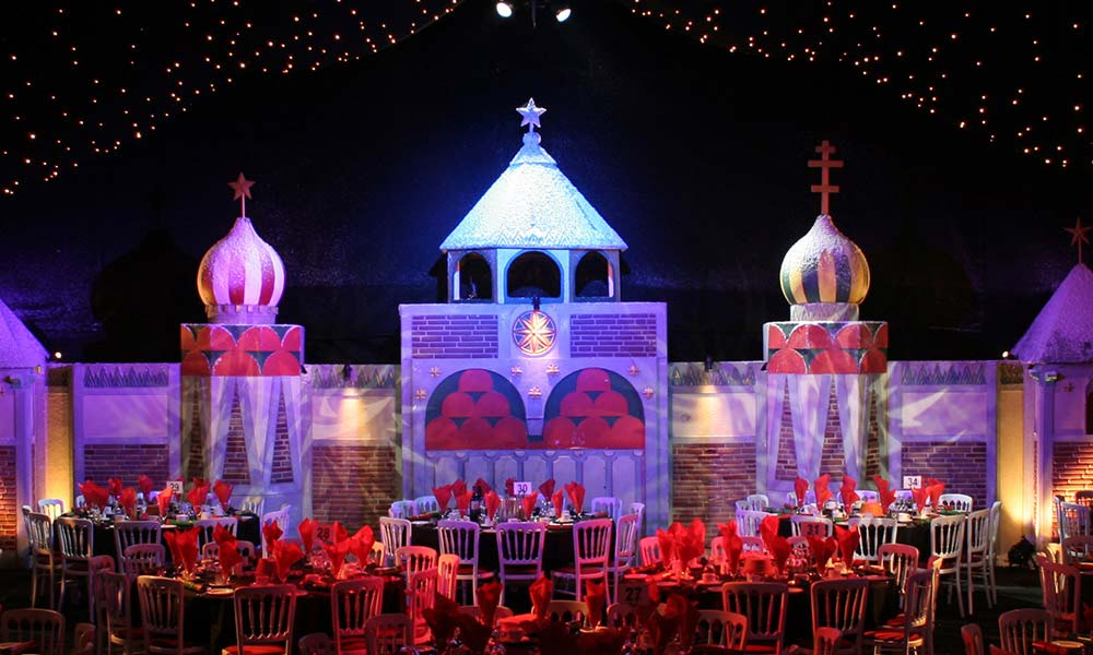 Russia theme Christmas Party