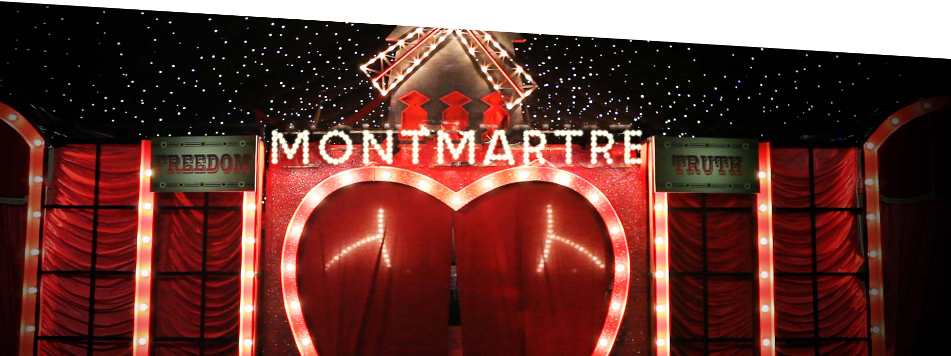 Magical Montmartre Theme Christmas Party