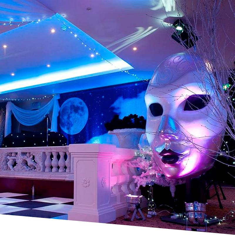 Exceptional Christmas Masquerade Party Ideas Part - 10: Office Christmas | Masked Balls And Venetian Themed Christmas Party -  Office Christmas