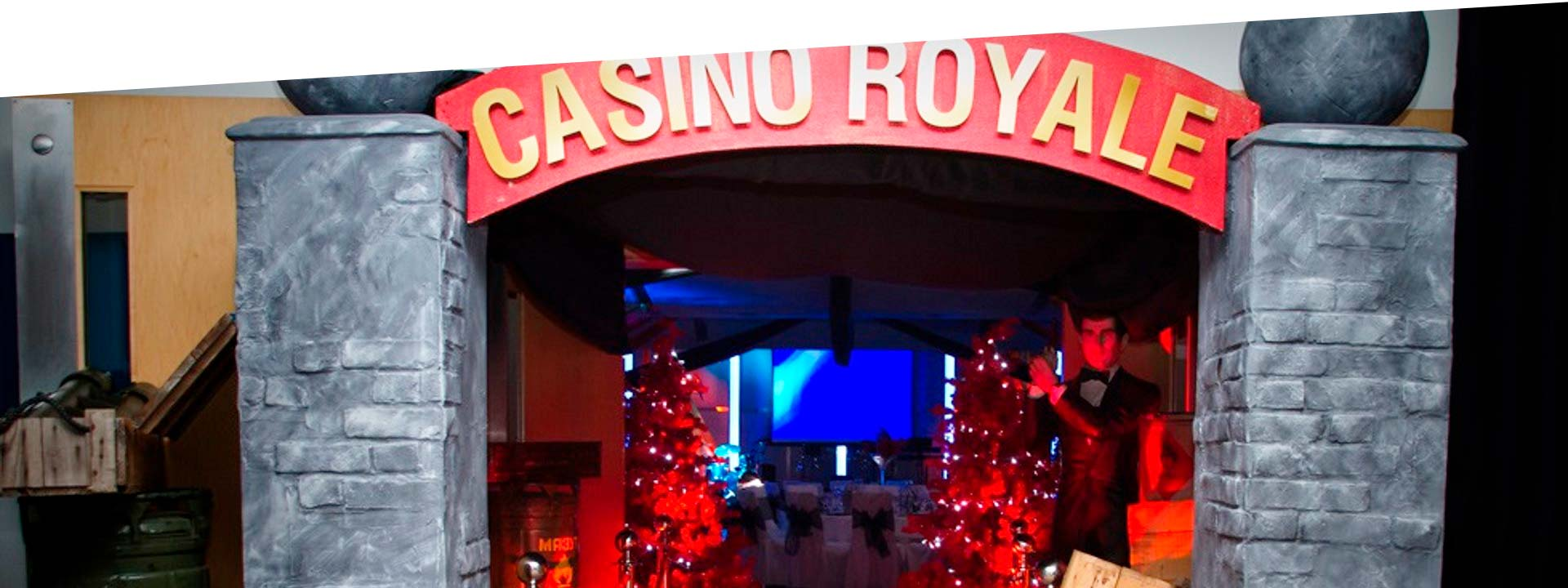 Office Christmas Casino Royale Christmas Party Theme