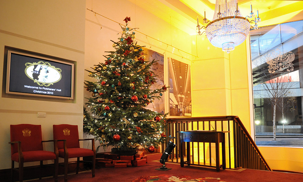 Christmas Party Venue Onelondonwall3