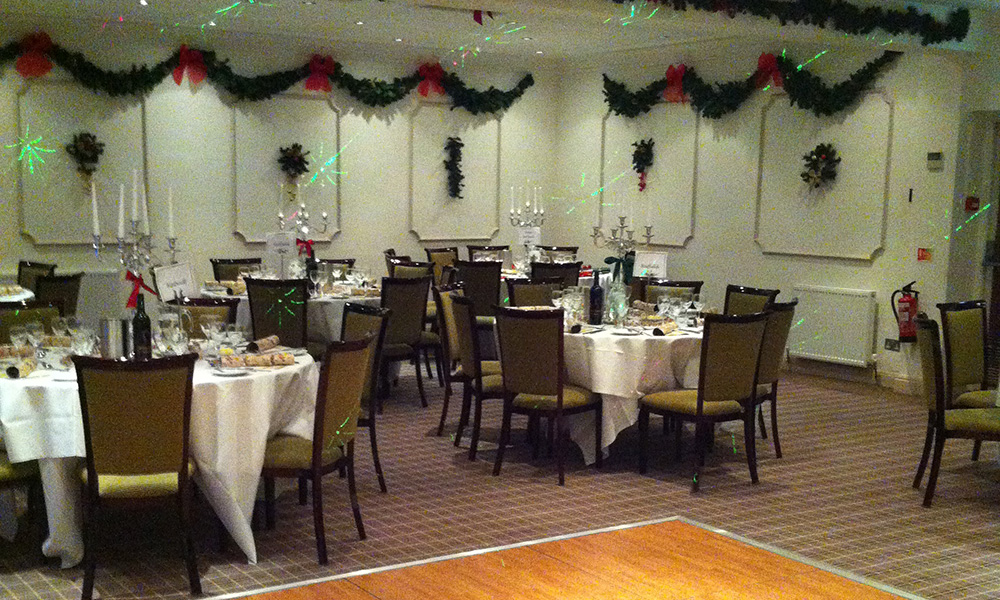 Cotswold Lodge Hotel Christmas Party
