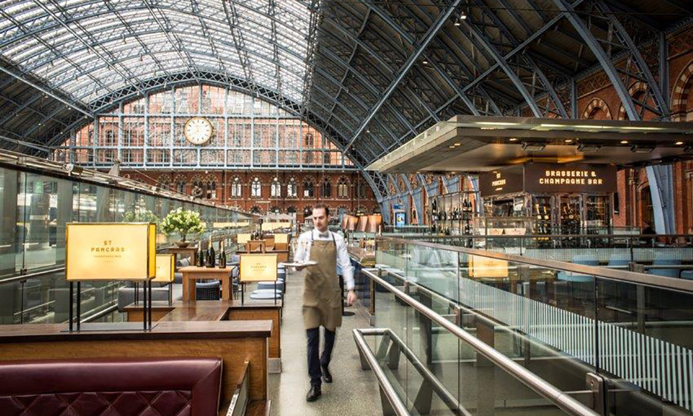 St Pancras By Seacrys Christmas Party