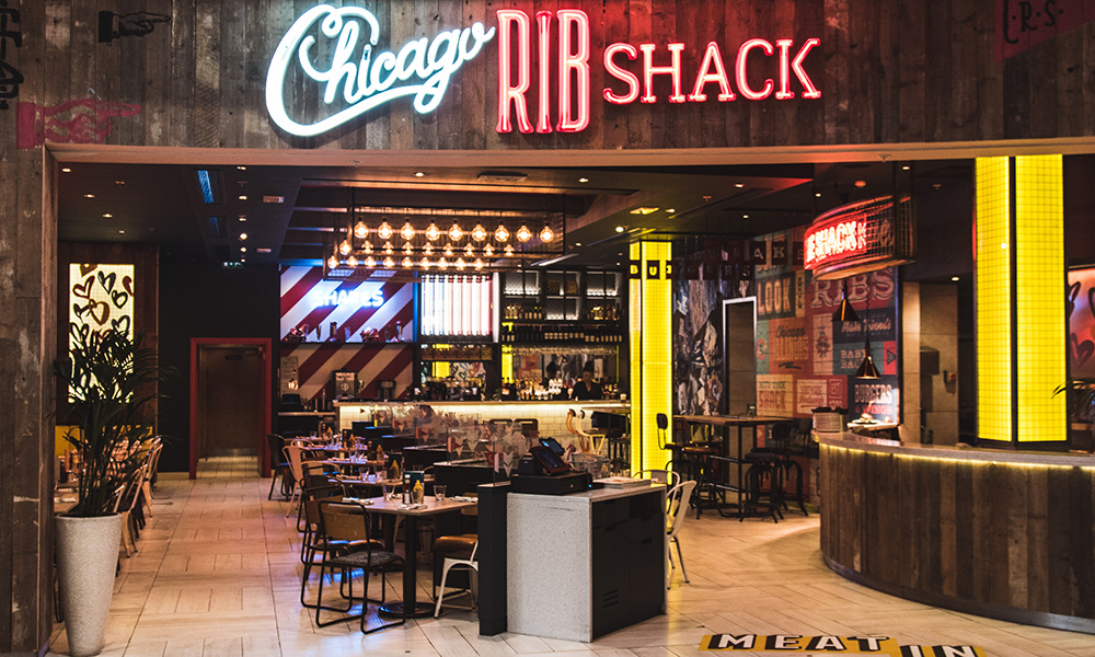 Chicago Rib Shack Xmas Party