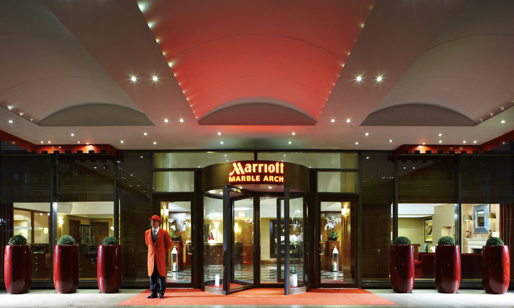 Marriott Marble Arch Christmas Party