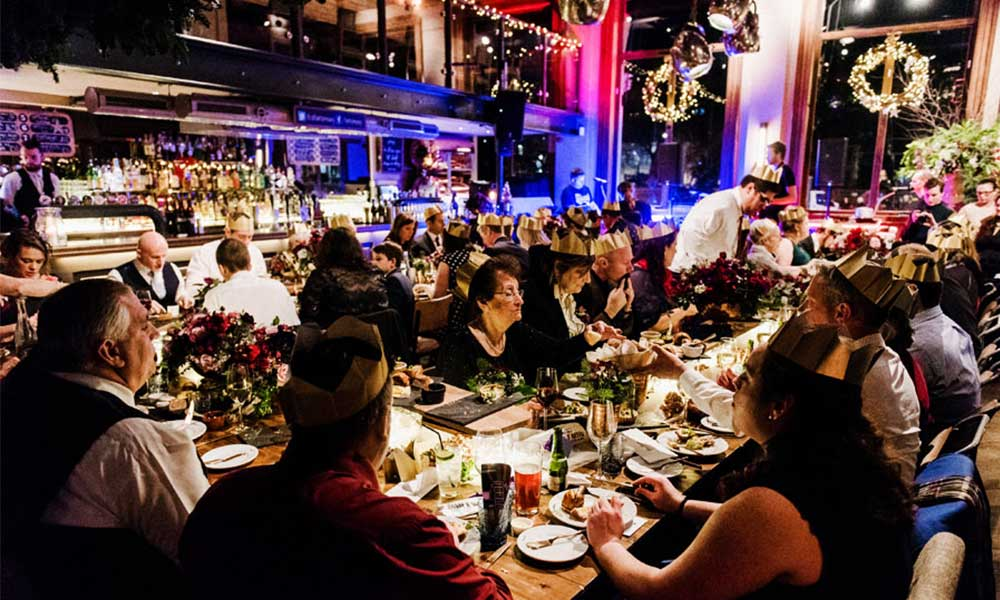 St Barts Brewery London Christmas Party 5
