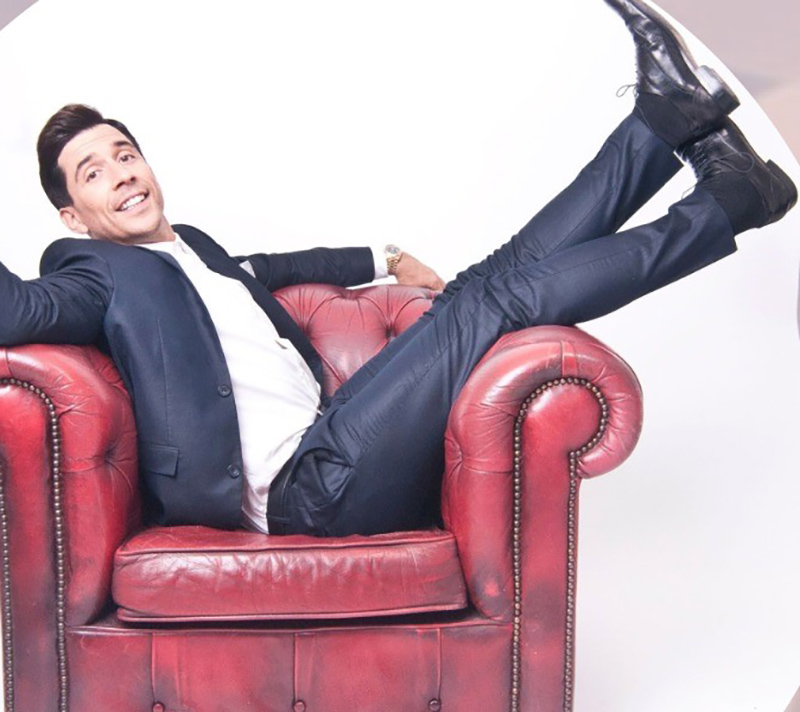 comedy night with Russell Kane