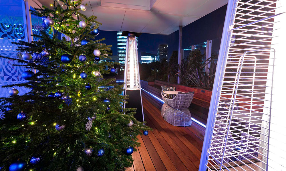 30 Euston Square Christmas Rooftop Terrace